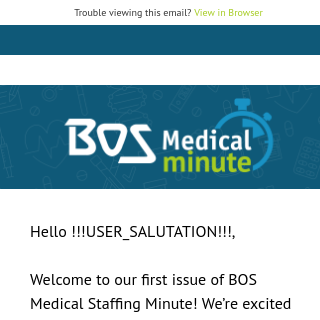 Your 60-Second Medical Staffing Solution